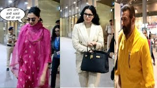 Deepika Padukone, Sunny Deol & Kangana Ranaut Spotted At Airport  | News Remind