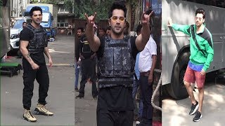 Varun Dhawan Shooting For Breezer Vivid Shuffle Music Video Shoot | News Remind