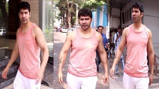 Varun Dhawan Spotted At Gym | Gym Workout | Gym | News Remind
