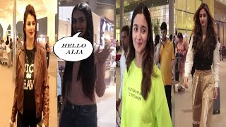 Alia Bhatt, Disha, Dino Morea, Kainat Arora Spotted At Airport | News Remind