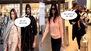 Shahid kapoor, Disha Shah & Saniya Mirza Spotted At Airport | News Remind