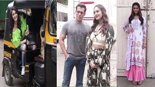 Salman Khan, Sonakshi, Sai Menjrekar & Warina Hussain Promoting Film Dabangg 3 | News Remind