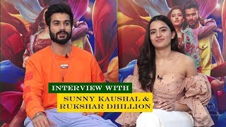 Sunny Kaushal & Rukshar Dhillion Talk About For Bhangra Pa Le | News Remind
