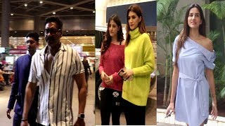 Kriti Sanon & Ajay Devgan Spotted At AIrport | News Remind