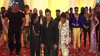 Salman Khan, Sohail Khan, Himesh Reshmiyan & Many Celebs Attend Raju Naag Son Wedding Ceremony