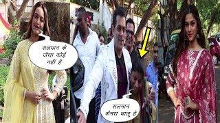 Salman Khan Full Masti With Fans | Dabangg3 | Salman Khan | Sonakshi Sinha | Sai Manjrekar