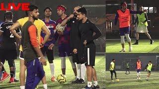 LIVE | Ranbir kapoor, Ishan Khatter & Many Others Play Football Match | News Remind