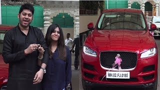 Ekta Kapoor Gift A Car To Dream Girl Director Raaj Shaandilyaa | News Remind