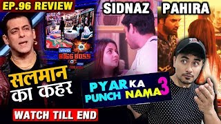 Bigg Boss 13 Review EP 96 | Sidharth - Shehnaz And Paras - Mahira LOVE Story And More | BB 13 Video