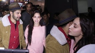 Nore Fathehi Kiss Varun Dhawan In Public At Street Dancer 3 Promotion