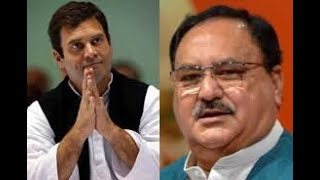 Challenge Rahul to speak 10 lines on CAA: Nadda