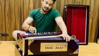 Harmonium Playing By Sajan Mishra in Studio Mumbai