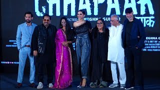 Chhapaak Title Track Launch | Deepika Padukon | Gulzar Saab | Full Show | News Remind
