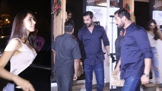 John Abraham With Wife Spotted At Lzumi Bandra - Watch Video