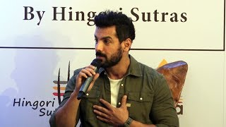 John Abraham Unveil The Braille Edition Of Karma Sutra