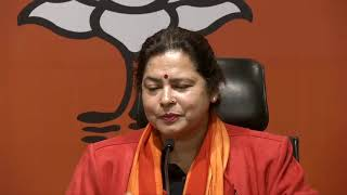 Joint Press Conference by Smt Meenakshi Lekhi & Shri Tarun Chugh at BJP Head Office, New Delhi