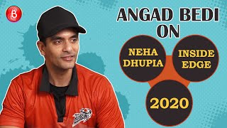 Angad Bedi's Honest Take On Inside Edge 2, Wife Neha Dhupia's Quirky Reaction & Resolutions For 2020