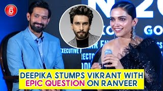 Deepika Padukone Stumps Vikrant Massey By Asking An Epic Question About Ranveer Singh | Chhapaak