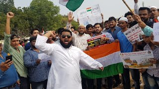 Hyderabadi's on Road | Protest Against CAA NRC | DT NEWS