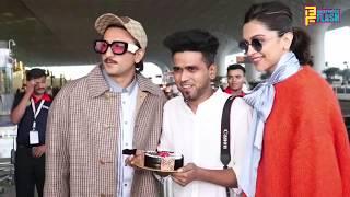 Deepika Padukone Birthday Celebration With Ranveer Singh - Chappaak Promotion
