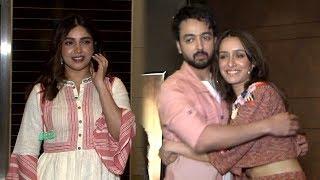 Shraddha Kapoor And Bhumi Pednekar At Special Screening Of Film Sab Kushal Mangal