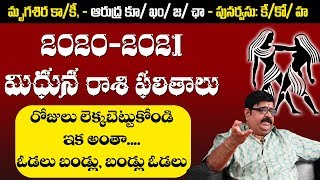 Mithuna Rasi 2020 Telugu | Venu Seamy Rasi Phalalu 2020 | Gemini 2020 | Remedies | Top Telugu TV