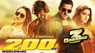 Dabangg 3  CROSSES 200 CRORE Worldwide | Box Office | Salman Khan, Sonakshi, Saiee