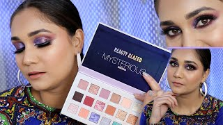 Beauty Glazed Mysterious Eyeshadow Review | Huda Beauty Retrograde Dupe or Just another Palette