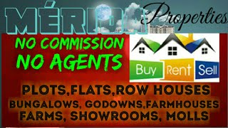 MERIDA        PROPERTIES  ☆ Sell •Buy •Rent ☆ Flats~Plots~Bungalows~Row Houses~Shop $Real estate ☆ ●