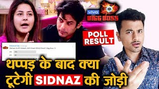 Bigg Boss 13 | Will SIDNAZ Bond Break After Shehnaz SLAP To Sidharth? | POLL RESULT | BB 13 Video
