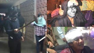 Dehli news /JNU में फिर से हिंसा भड़की छात्रों पर जानलेवा हमला ,कई छात्र गंभीर घायल