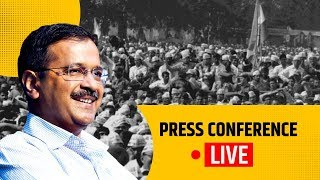 CM Arvind Kejriwal briefs media on the announcement of Delhi Elections