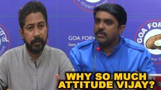 Revolutionary Goans Slam Vijay For Insulting Journalist At Press Conference