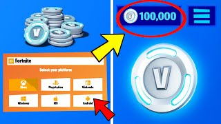 Using VBUCKS Generator to get FREE V-BUCKS! Fortnite (Episode 3)- PS4,XBXOX,PS4,NINTENDO,MOBILE