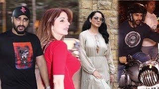 Spotted : Kangana Ranaut, Kartik Aaryan & Arjun Kapoor With Sussanne Khan