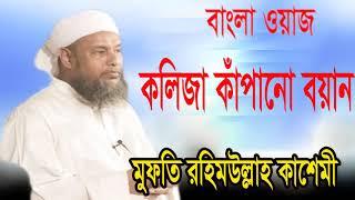 কলিজা কাপানো বয়ান । Mufty Rohimullah Kasemi Bangla Waz । Bangla Islamic Lecture | Islamic BD