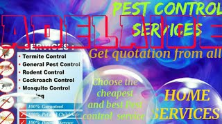 ADELAIDE        Pest Control Services 》Technician ◇ Service at your home ☆Bed Bugs ■near me ☆Bedroom