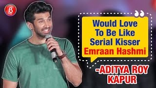Aditya Roy Kapur: Would Love To Be New Age Serial Kisser, Emraan Hashmi | Malang