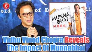Vidhu Vinod Chopra On The Impact Of Munnabhai On Society   Shikara Trailer Launch