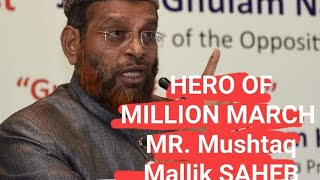 Million March | Convener Mushtaq Malik | 25 People booked by Hyd City police
