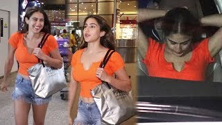 Sara Ali Khan & Ibrahim Ali Khan Return From Maldives Holiday | Sara Ali Khan Spotted