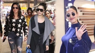 Spotted : Sonal Chauhan, Sunny Leone & Shraddha Kapoor At Airport