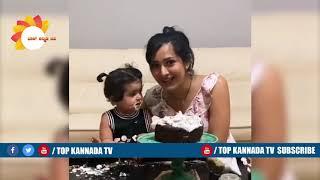 Ayra Yash helps Radhika Pandit to Prepare Cake for Yash Birthday | Ayra Yash New Video