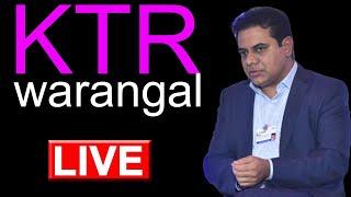 Minister KTR LIVE | inaugurating Tech Mahindra & Cyient Campus at Warangal | Top Telugu TV