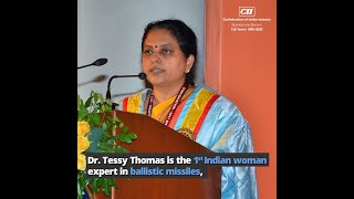 """Gender does not matter. You work as a scientist, not as a woman."" Know more about Dr Tessy Thomas"