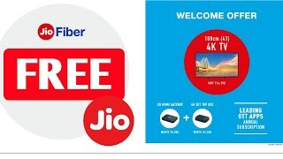 Jio Fiber All Plans with full Details | 4K LED Tv & Jio DTH FREE | Jio Welcome Offer Full Details