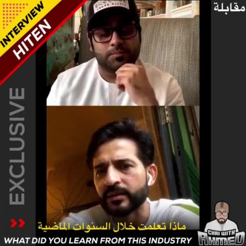 Hiten shares his learning experience throughout his journey from Shows, Tv and web series