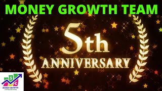 5th YEARS COMPLETED OF MONEY GROWTH, SPECIAL THANKS VIDEO FOR GOD AND ALL OF YOU