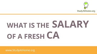 Salary of a fresh CA | Highest Salary Package in CA Campus Placement