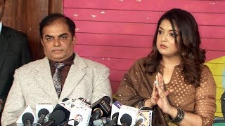 Press Conference With Tanushree Dutta And Her Advocate Nitin Satpute